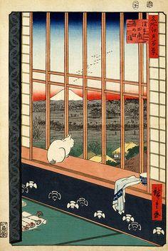 UTAGAWA Hiroshige (1797-1858), Japan 歌川広重