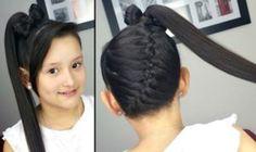 Como hacer peinados con trenzas para niña - peinados con trenzas para comunión