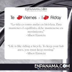 La vida es como ... Life is like...| #PANAMA #EnPanama #TRAVEL #VIAJES #QUOTES #CITAS https://www.facebook.com/en.panama EnPanama.com