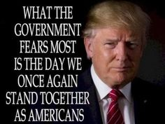 Americans....lets stay strong & continue to stand together so the 'Left' won't be able to do any more damage to our Country.