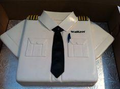 He needs this pilot cake