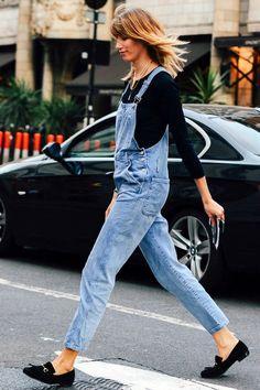 Le Fashion Blog London Street Style Veronika Heilbrunner Denim Overalls Suede Loafers Via Tommy Ton Style Com photo Le-Fashion-Blog-London-Street-Style-Veronika-Heilbrunner-Denim-Overalls-Suede-Loafers-Via-Tommy-Ton-Style-Com.jpg