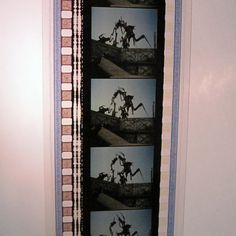 Recycled 35mm Film Bookmark  ON SALE Sci-Fi by StalkingMarla