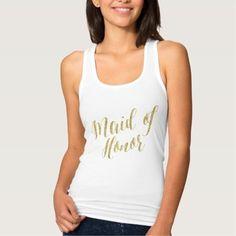 #Valentines #AdoreWe #Zazzle - #Zazzle Maid Of Honor Shirt - AdoreWe.com