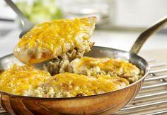 Campbell's Chicken & Stuffing Skillet Recipe