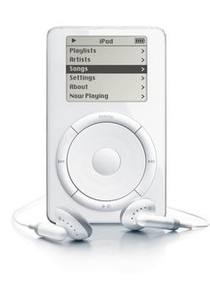 Apple iPod Classic (5 Gb / 1st Generation) from 2001