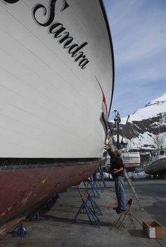 En un astillero de #Valdez, #Alaska.