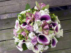 Bouquet lilás lírios