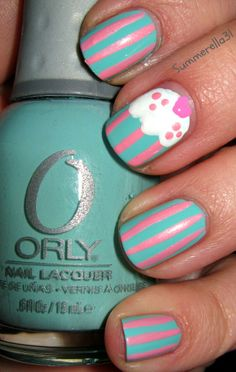 Orly Gumdrop, LA Colors Art Deco Baby Pink, NYC French White Tip, and China Glaze Dance Baby