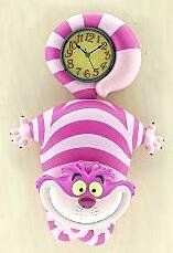 Cheshire Cat wall clock from Fantasies Come True