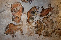bison, altamira cave