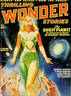 "Search Results for ""planet comics"" – Page 2 – Pulp Covers Arte Do Pulp Fiction, Pulp Fiction Kunst, Pulp Fiction Comics, Science Fiction Kunst, Pulp Fiction Book, Book Cover Art, Comic Book Covers, Dibujos Pin Up, Comics Vintage"