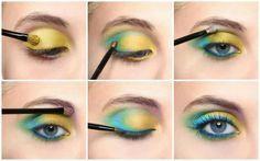 Papagei make up