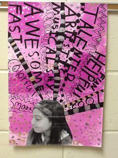 The 4 th  grade students were learning about character writing in their classrooms so we did a self-portr...