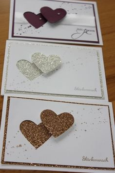Great idea - could use any shape and sentiment for multiple cards (butterfly, feather...)