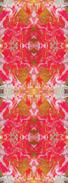 Wonderfully colored original fabric design by Liza Hathaway Matthews for Cotton + Quill.