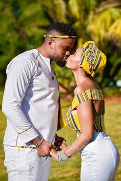A Stylish Venda Wedding South African Wedding Dress, African Bridal Dress, African Wedding Attire, South African Weddings, African Attire, African Wear, African Fashion Dresses, African Dress, Venda Traditional Attire