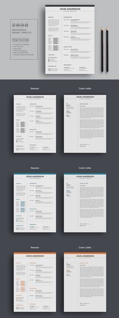 Using this resume template, you can create a modern and - perfect font for resume