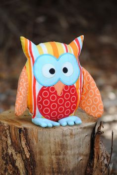 Owl pattern sewing tutorial...whish i was good at sewing :(