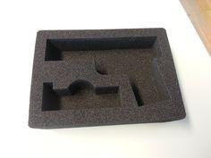 Ein individueller Schaumstoffeinsatz für einen #Waffenkoffer, der mit unserem bwh-Koffer-Schaumstoff-Konfigurator erstellt worden ist.