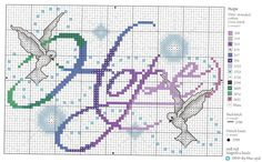 Cross-stitch Hope