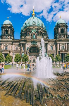 The breathtaking Berlin Cathedral stands as a shining example of neo-Renaissance masterwork. Germany's capital boasts many other must-see monuments, including the Berlin Wall, Checkpoint Charlie and the Brandenburg Gate.