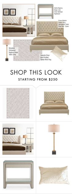 """""""Bedroom Decor"""" by kathykuohome ❤ liked on Polyvore featuring interior, interiors, interior design, home, home decor, interior decorating, Abella, Belvedere, bedroom and Home"""
