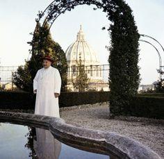 Pope John XXIII pictured in Vatican Gardens