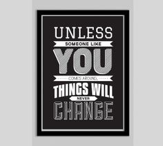 Dr.Seuss Inspirational Quote Poster by POSTERED on Etsy, $15.00