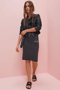 Primark Moda Feminina Blusão Motard Essencial Primavera Verão 2017