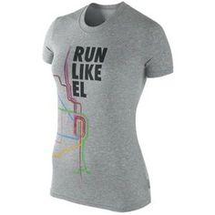 I love the cute Chicago Marathon shirts that Nike makes.