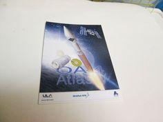 NASA ATLAS V OA-4 STICKER CYGNUS  ORB4 ATK ULA    inv2