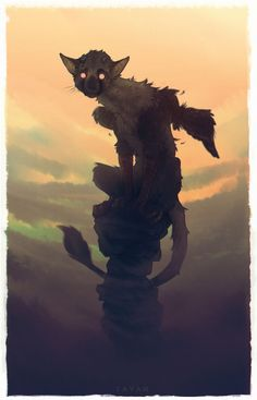Shadow Of The Colossus, Oc Drawings, Fantasy Beasts, My Fantasy World, Creature Drawings, Alien Worlds, Creature Design, Mythical Creatures, Cool Artwork