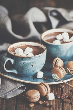 Hot coco with marshmellows ♡
