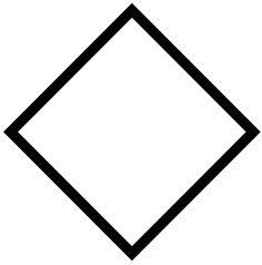 Shape Templates, Letter Templates, Triangle Symbol, Business Letter Template, Diamond Image, Rhombus Shape, Computer Icon, Geometric Shapes, Line Art