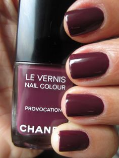 Chanel Provocation    From thequeenofthenail.com