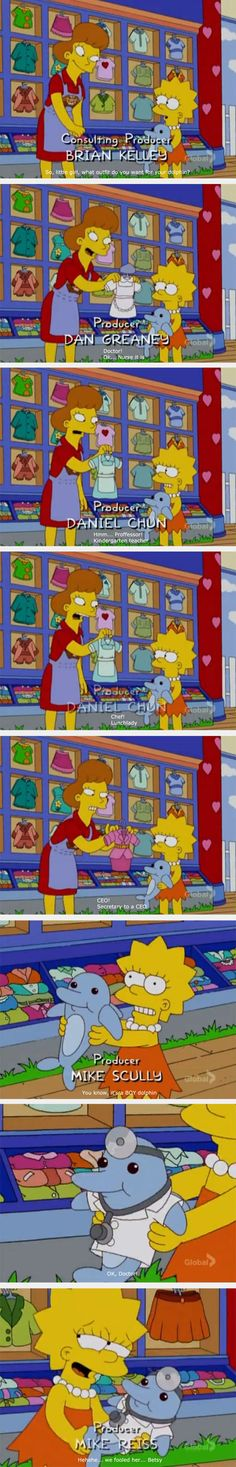 Lisa Vs. Gender Equality Lisa is my favorite Simpson's character, and one of my favorite characters period.