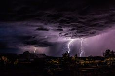 Storm photography by Graeme Webb