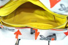 Prada Resort 2016 Collection Bunny Arrow Prints Inside Bag New For Sale at 1stdibs