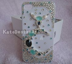 Bling bling iphone cases  unique iphone 4s case by KateDesignArt, $15.99