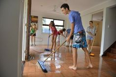 How to Clean Up After a Flood #stepbystep