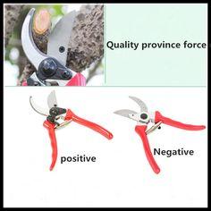 Home and gardening 65 manganese steel coarse scissors pruning scissors gardening tools scissors