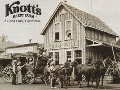 Knott's Berry Farm: the log ride and the best boysenberry everything you've ever tasted. I LOVED the fried chicken and boysenberry pie. Knotts Berry, Buena Park, Covered Wagon, Travel Log, Native American History, Ghost Towns, Family History, Cool Places To Visit, Boysenberry Pie