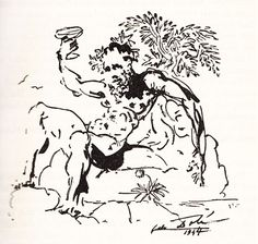'Of Drunkenness' by Salvador Dalí, for a rare 1947 limited edition of Montaigne, Signed by Dalí