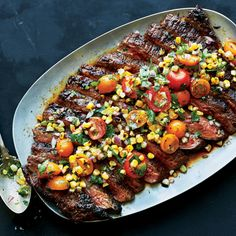 This spicy and sweet powerhouse seasoning blend packs layers of flavor onto grilled flank steak.