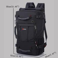 96891e29b770 Oxford Backpack Casual Travel Single-shoulder Crossdody Bag  Multi-functional Laptop Bag For Men