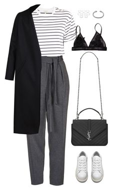 """Sans titre #914"" by romane-inspiration ❤ liked on Polyvore featuring rag & bone, Topshop, Acne Studios, Non, Yves Saint Laurent, David Yurman and Forever 21"