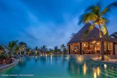 The Palapa we decorated at Grand Isle Resort and Spa - Exuma Bahamas