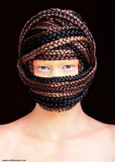 Hairstyling: Eirik Thorsen / Norwegian Avant Garde Hairdresser of the Year 2011