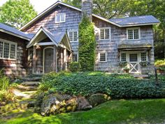 Quintessential Highlands mountain home with cedar shakes & tin roof